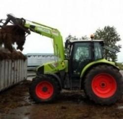 Juli 2011 – Nieuwe Claas tractor
